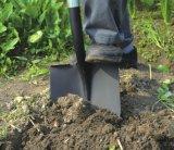 Herramientas de jardín Forged Steel Sharp Spade Pala redonda con mango de fibra de vidrio