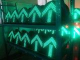 방향 표시를 위한 빨강 & 호박색 & 녹색 LED 번쩍이는 신호등
