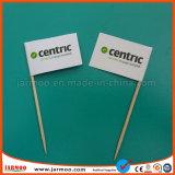 Impressão Digital palito de bambu Bandeira de papel