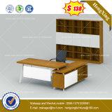 Scrivania di legno poco costosa di colore della ciliegia dell'impiallacciatura di alta qualità (HX-8NE097)