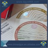 Kundenspezifische prägendrucken-Anti-Fälschensicherheits-Karte