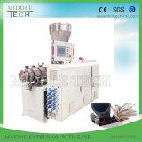 Le plastique PVC/SPVC UPVC/deux cavités tuyau flexible/tube/l'Extrusion/Making Machine de l'extrudeuse
