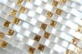 Living-Room personalizados baratos decorativos baldosa mosaico de vidrio ondulado