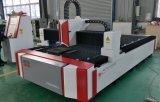 Laser-Ausschnitt-Maschine der Faser-500W mit einzelnem Tisch