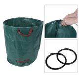 Trois descripteurs PP tissés sac de déchets de jardin