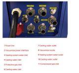 Экономия энергии вакуума слитков литую деталь машины для специализированных Золотые слитки