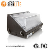 IP65 Lâmpada EXTERIOR DA FCC UL 120lm/W Pack de parede exterior do LED Light