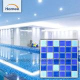 Vierkante Kleur 6mm van de Mengeling van de Vorm de Ceramische Tegel van het Mozaïek van het Zwemmen Pool
