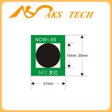 Ncw 뒤집을 수 있는 온도 열 과민한 색깔 변경 스티커 포장