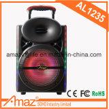 altavoz portable recargable de 12inch Bluetooth de Kvg