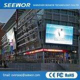 P16 de alto contraste de color completo Pantalla de LED para publicidad exterior