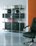 Mesa de escritório de MDF de couro de estilo moderno novo (AT018)
