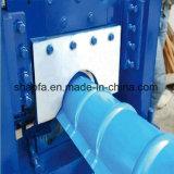La venta caliente galvanizó el rodillo del casquillo de Ridge de la azotea que formaba la máquina