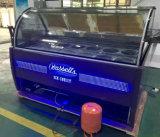 Gaststätte-Tisch-Oberseite Gelato Bildschirmanzeige-Gefriermaschine-/Eiscreme-Gefriermaschine-Hersteller