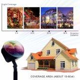 Patentiertes Entwurfs-reales fallendes Schneeflocke-neues Schneefall-Projektions-Licht für Feiertags-Dekoration