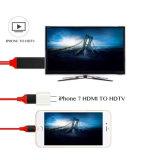 iPhoneのためのHDMI Cable 1080P HDTV Adapterへの8pin Lightning