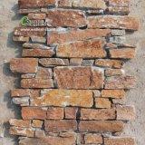 Оптовая торговля ржавыми Quarzite плиткой, стек камня, взаимосвязанных Ledgestone плитки