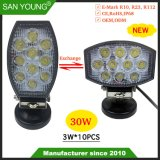 Nouveau Style 4inch 30W phare de travail LED LED LED des feux de conduite pour l'utilisation de Spotlight 2