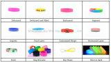 Fascia di manopola riempita Segment+Debossed promozionale del silicone di colore