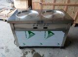 ETL UL Kolice 55cmの二重鍋ロールアイスクリーム機械