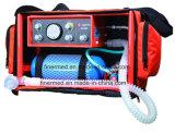 Mini ventilateur portable Ambulance d'urgence médicale la machine