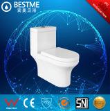 Toilet van WC van Siphonic het Ééndelige met Goede Gelijke Montage (BC-1042A)