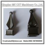 OEM Accesorios decorativos de fundición de aleación de aluminio pulverizado con la alimentación