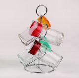 زجاجيّة زيت & خلّ ملح فلفل [كروت], بهار, تابل زجاجة يثبت مع من