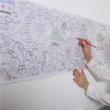Kundenspezifisches Wand-Größen-Farbton-Samt-Plakat-Drucken