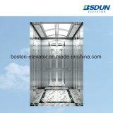 630kg de acero inoxidable elevador de pasajeros