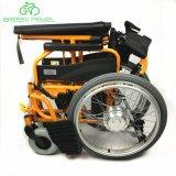 Greenpedel Kl1の軽量のFoldable電気階段上昇の車椅子