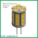 A intensidade de PWM G4 Lâmpada de substituição de LED/12V/3.3W/280lm