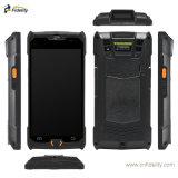 Ordinateur de poche PDA NFC Terminal de données avec Mobile Reader RFID Collector Android6.0 OS Code-barres 2D