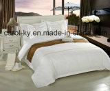 綿の贅沢な慰めの柔らかいホテルの寝具の一定のシーツ