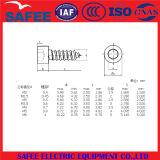 Vis de machine Hex de tête de carter de plot d'acier inoxydable de la Chine M3-M5 - vis de la Chine, boulon