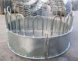 Alimentateur de balles rond DIP Gal chaud pour bovins moutons