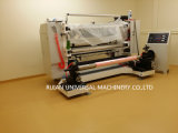 Film de PVC fendant la machine de Rewinder