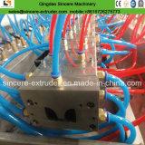 Extrusion en plastique de pipe de spirale de système d'égouts de HDPE faisant la machine 200-2400mm