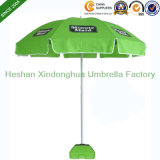 Förderndes Beach Umbrella mit Custom Logo, Advertizing Sun Umbrella (BU-0048W)