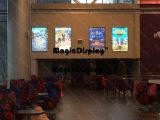 LEDの磁気広告の映画館のライトボックス