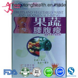 과일 & 캡슐을 체중을 줄이는 야채 허리 및 복부 체중 감소