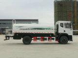 Dongfeng 4X2は給水車10000リットルのとの上昇のプラットホームのトラックを切る