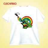 Camiseta para la camiseta Printing&Hot-Vendedora de Crewneck T-Shirt&Custom de la sublimación