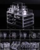 Les tiroirs de maquillage de l'organiseur cosmétiques Présentoir acrylique Cas du Cabinet