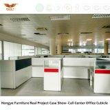Forêt certifiée FSC approuvé par la SGS Dernière MDF Station de travail avec l'unité de la partition en acrylique et tiroir