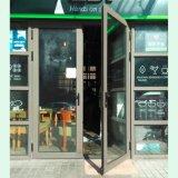 Дверь Casement серого порошка цвета Coated двойная алюминиевая, алюминиевая дверь, дверь K06008