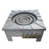 La más alta calidad comercial de quemador de estufa de hierro fundido