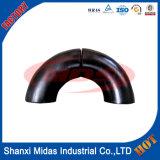 Aço carbono 45/90 /180 Graus Dobrar e o cotovelo do tubo Fabricado na China