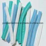 Macchina Bouffant di fabbricazione della protezione della clip non tessuta e di plastica dei pp a gettare