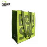 Grande taille forte impression couleur laminé PP recyclé sac tissé